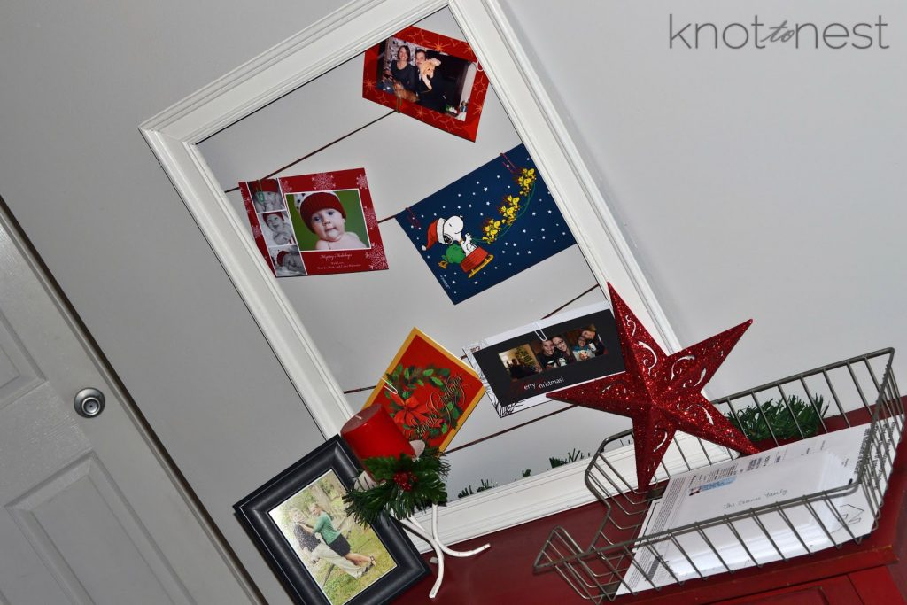 Christmas Decoration Ideas. DIY card holder