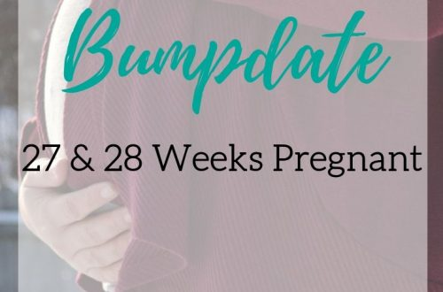27 and 28 weeks pregnant