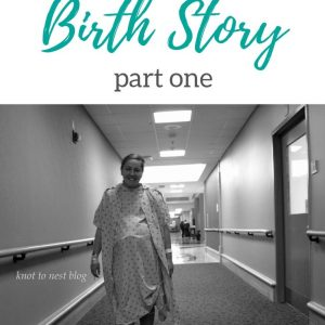 First born birth story