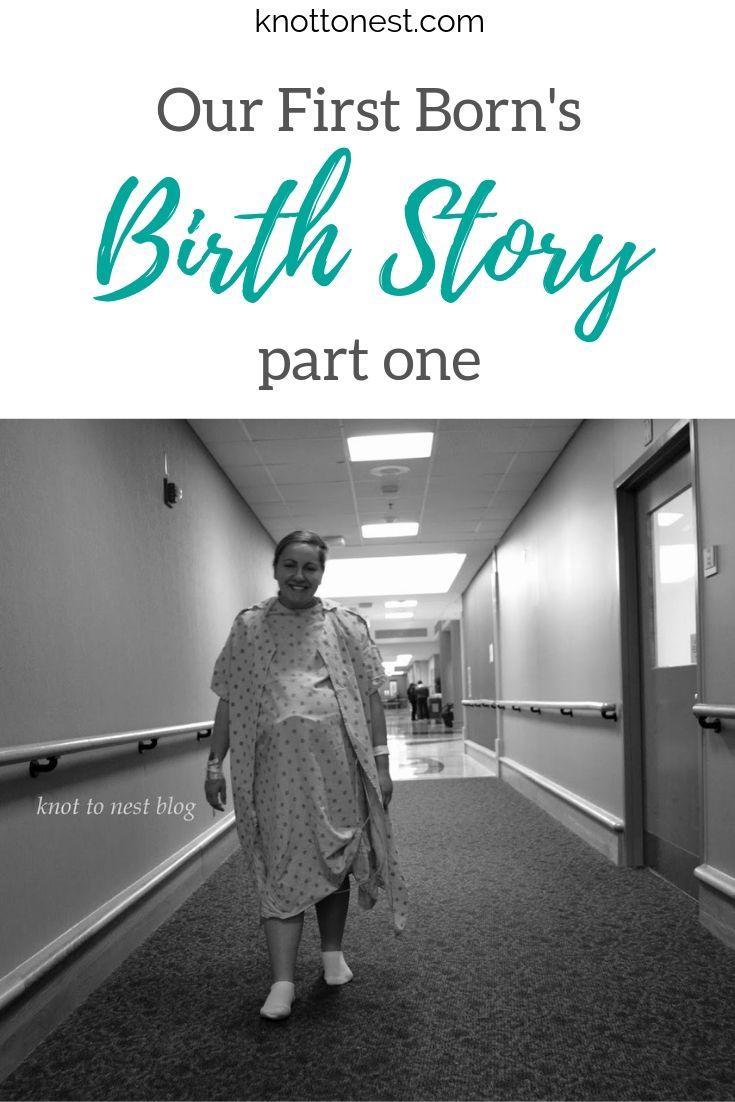 First born birth story