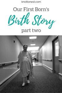 birth story part 2