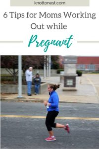 Working out while pregnant