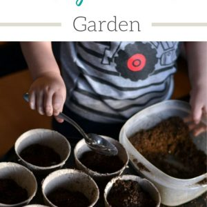 Creating a toddler garden