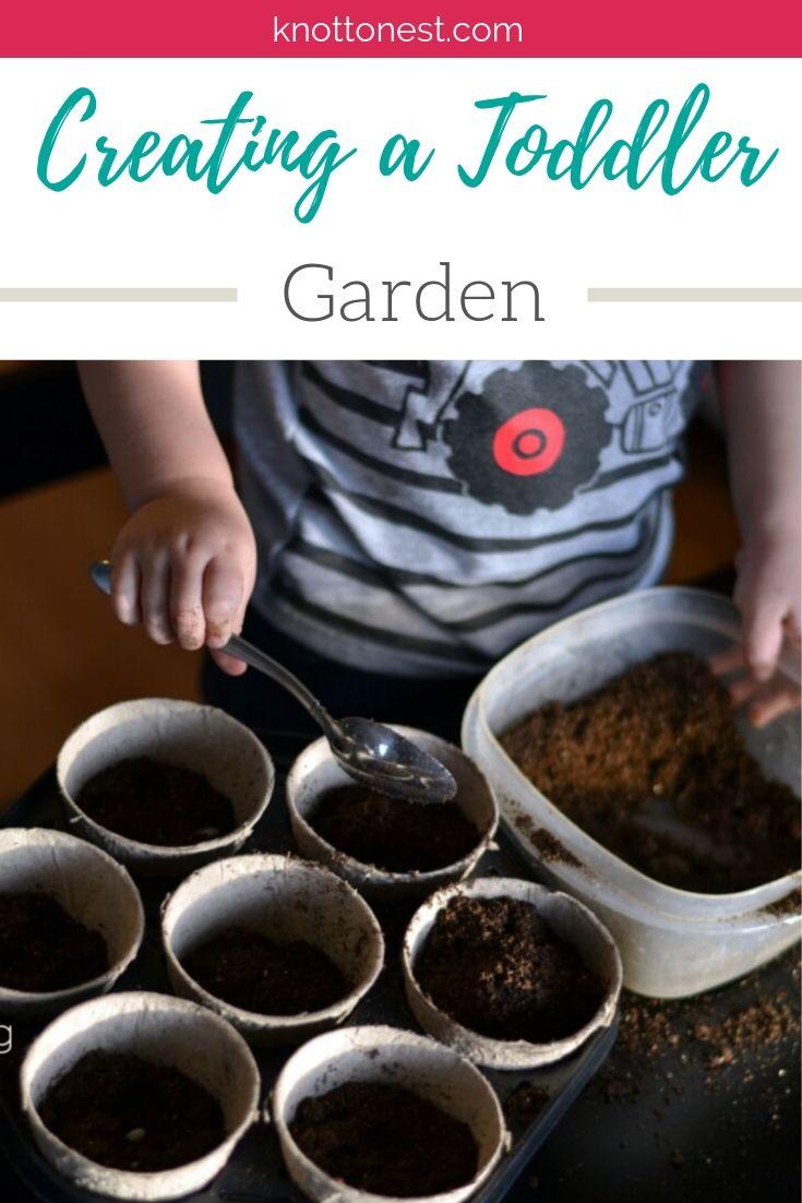 Creating a toddler garden