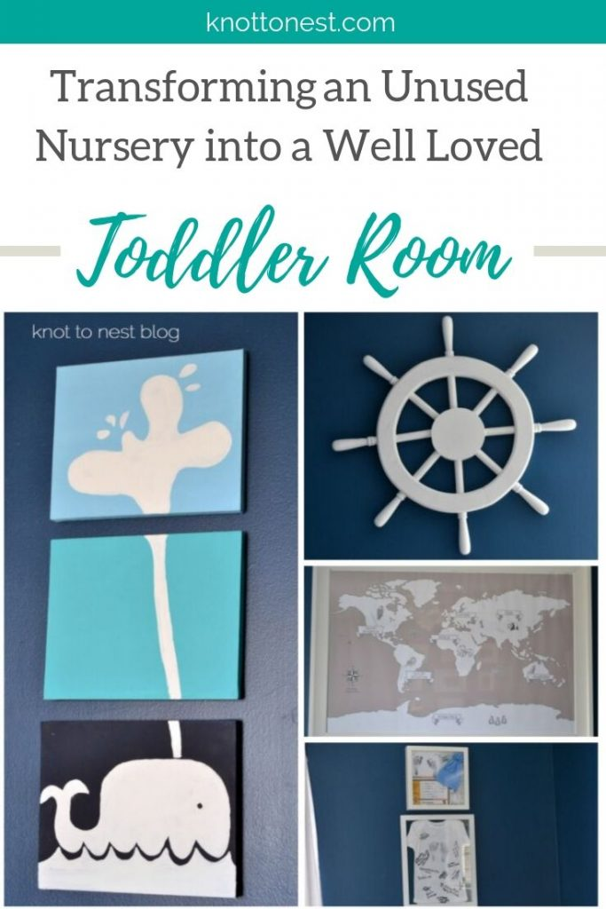 Creating a toddler room