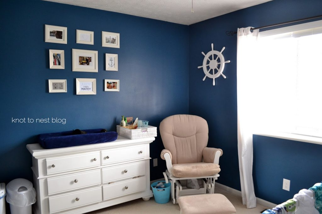 Nursery turned toddler room