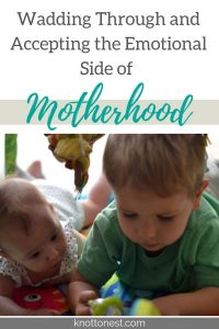 The emotional side of motherhood