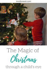 Magic of decorating the Christmas Tree