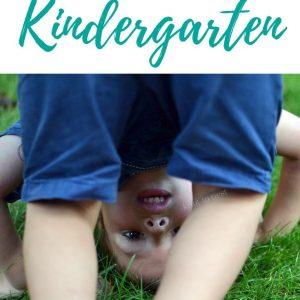 Deciding when to start your child in kindergarten