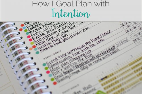 Intentional goal planning
