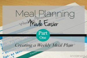 Free printable weekly meal planner. Simple to use weekly meal plan printable.