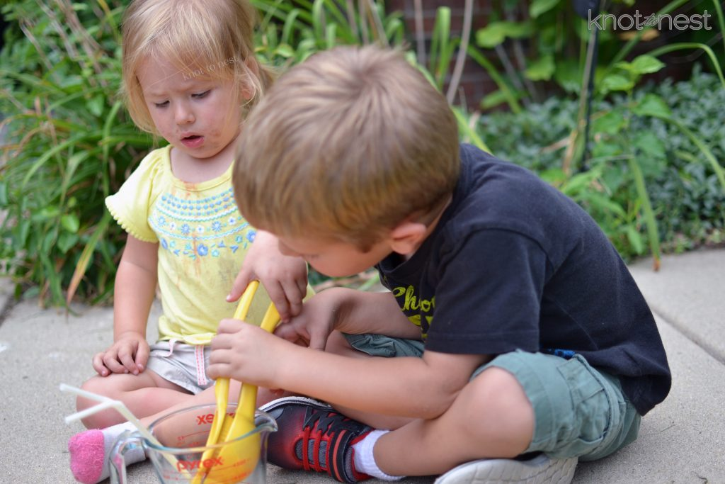 summer activity with kids