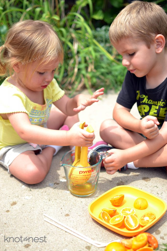 summer activity with little ones