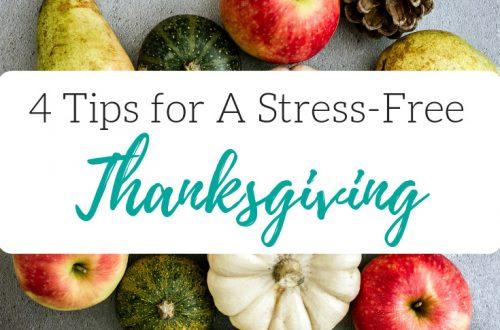 Stress Free Thanksgiving Planning