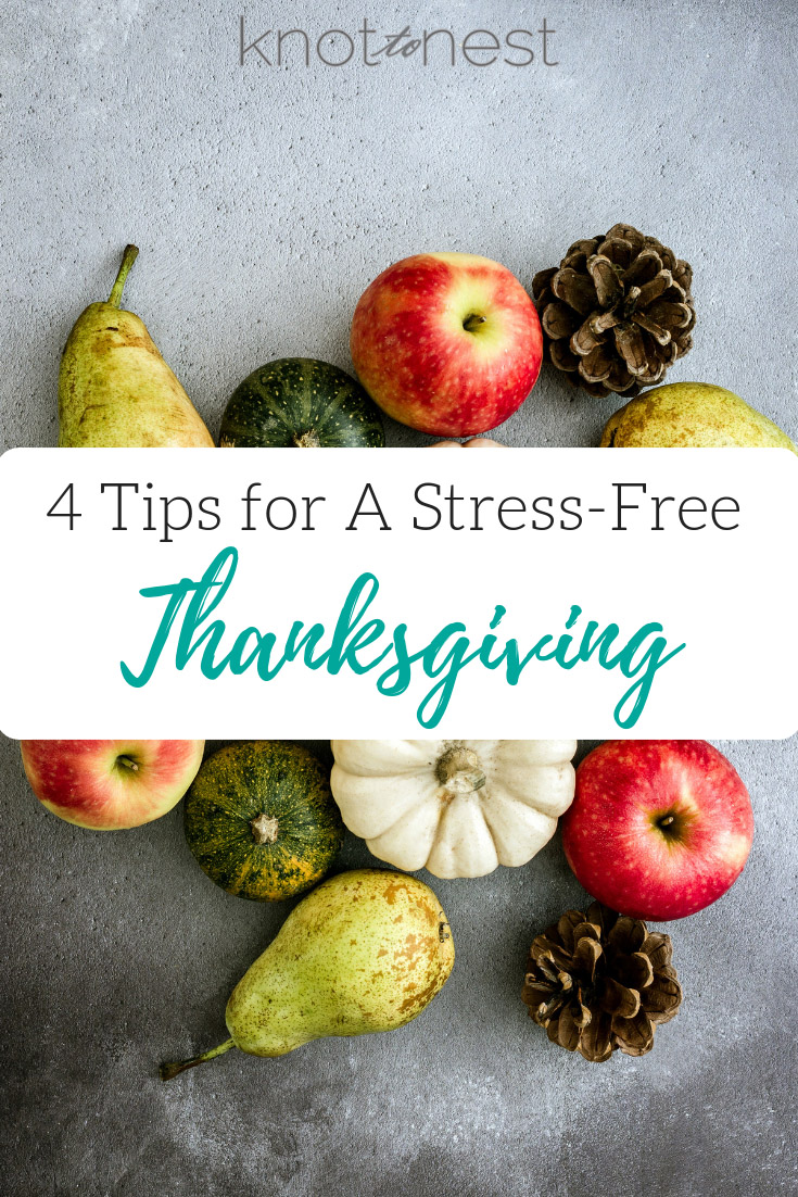 Stress Free Thanksgiving Planning