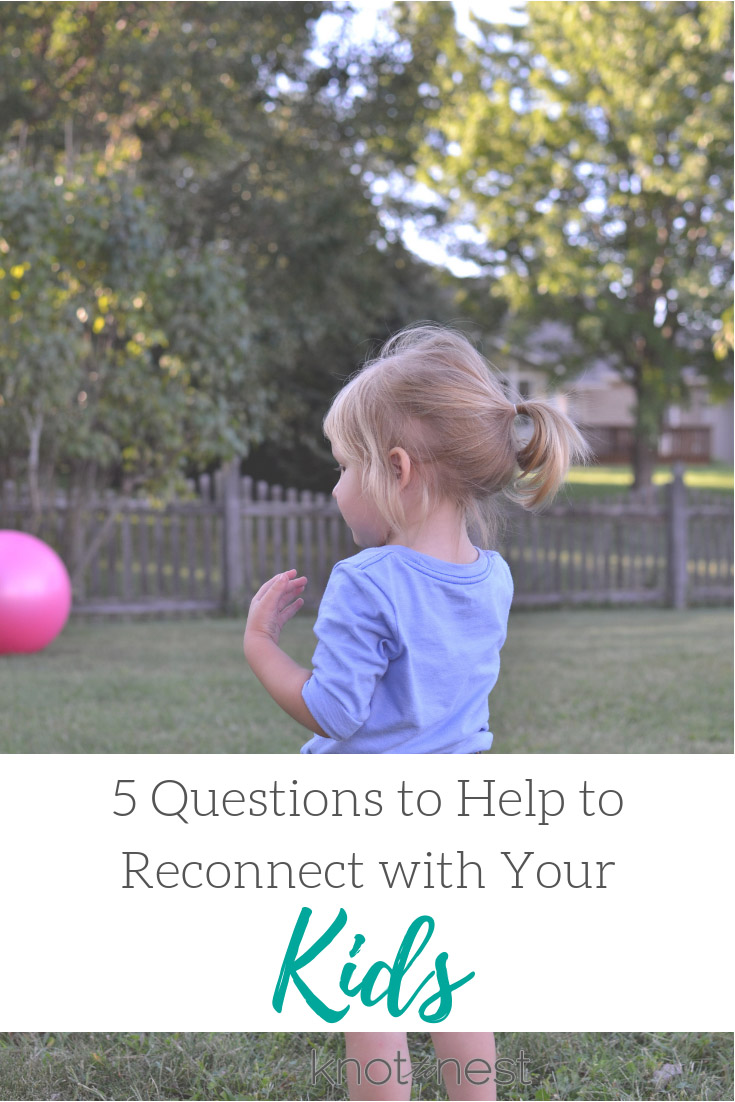 Easily reconnect with your kids