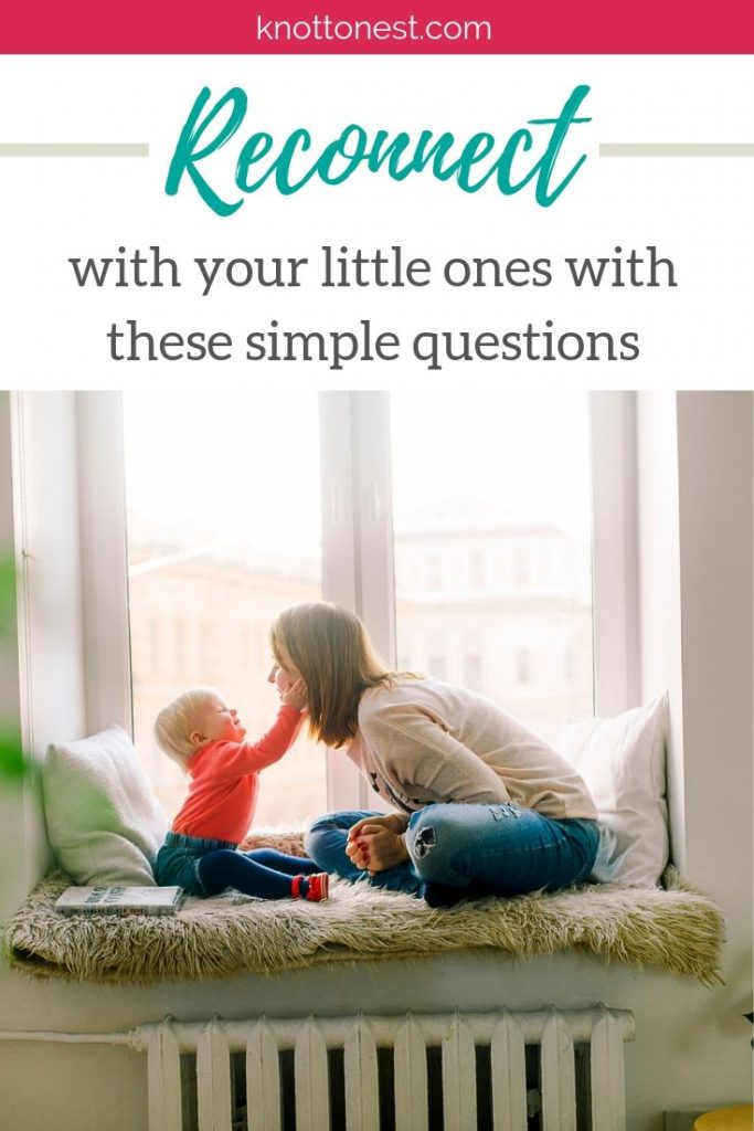 5 questions to help you reconnect with your kids