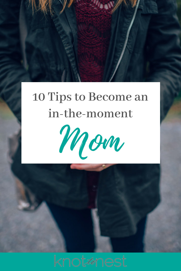 Tips for living more in the moment