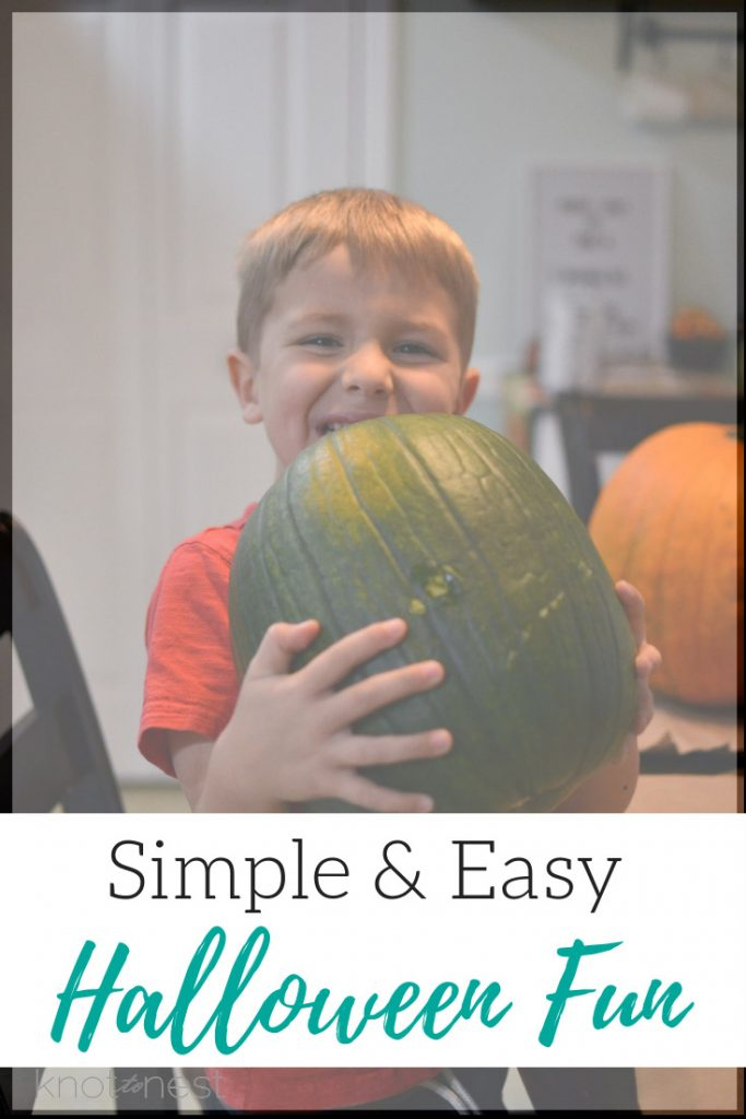 Simple and easy Halloween fun