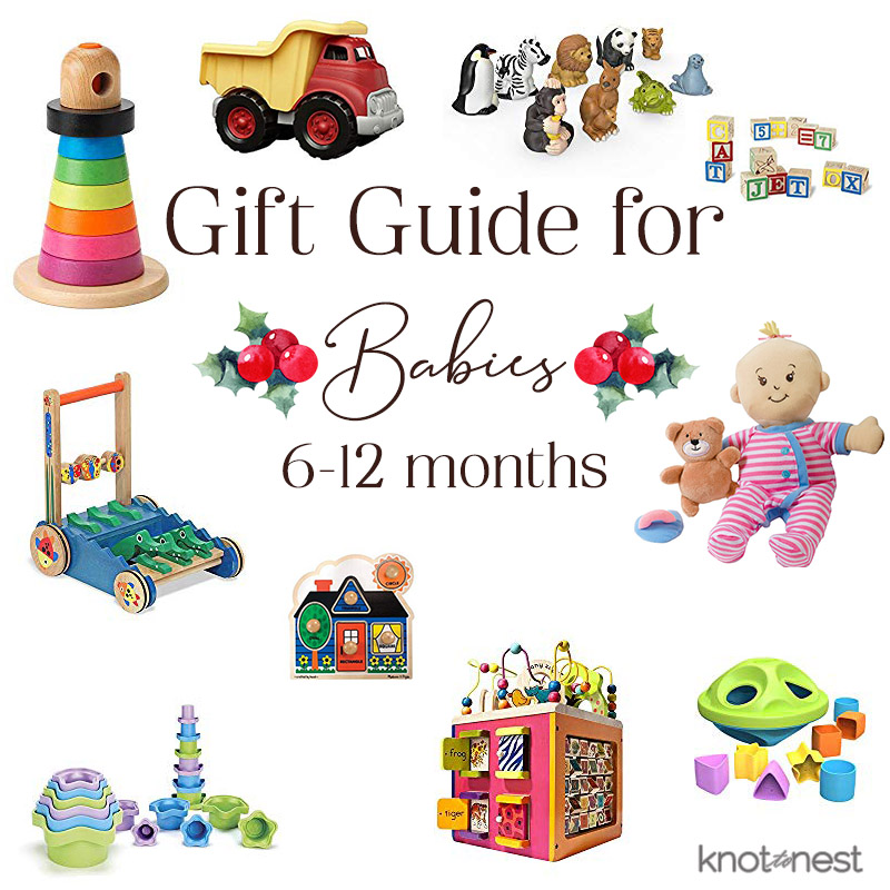 Gift Ideas for babies 6 months to one year old