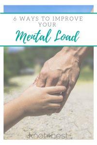 Improve the mental load of motherhood