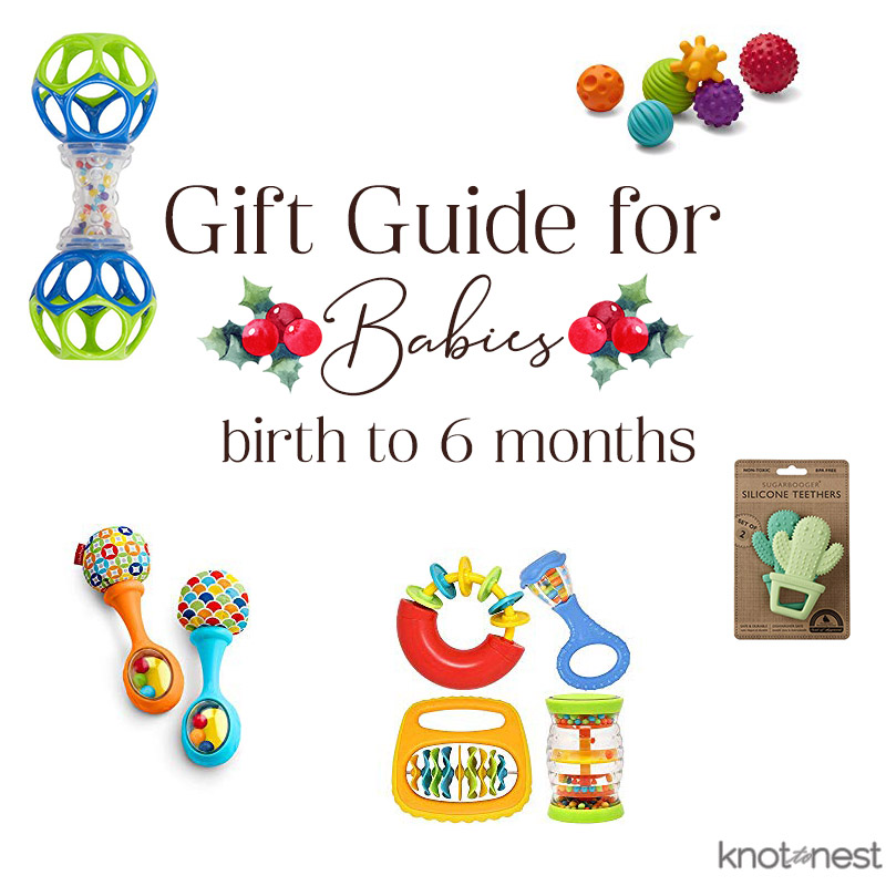 gift ideas for babies from birth to 6 months