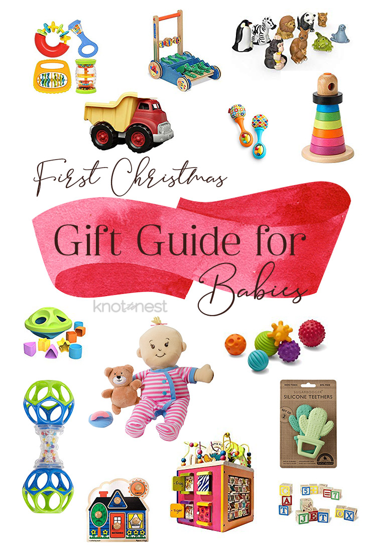 Open-ended Christmas gift ideas for baby