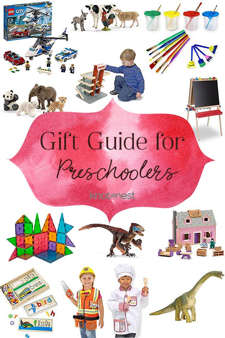 Open-ended preschool toys