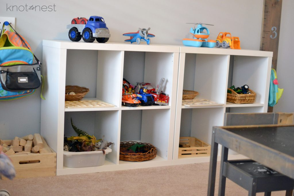 Toy organization tips. Easily organize your children's toys.