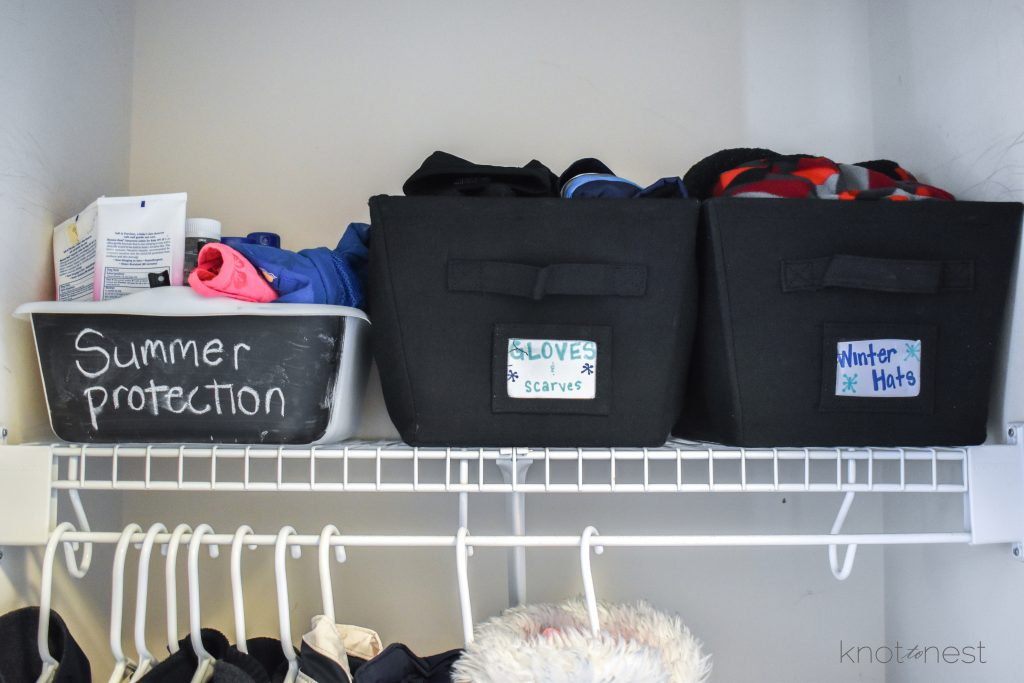 Organizing Seasonal Gear