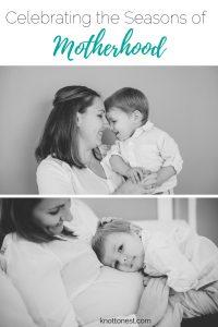 celebrating the wonderful seasons of motherhood.