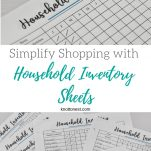 Home Inventory Sheets