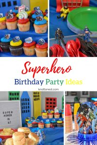 Superhero birthday party ideas. Easy, fun, and affordable