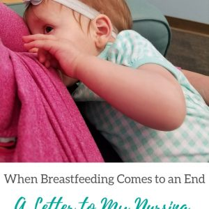 Letter to my breastfeeding toddler