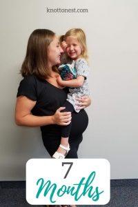 7 months pregnant