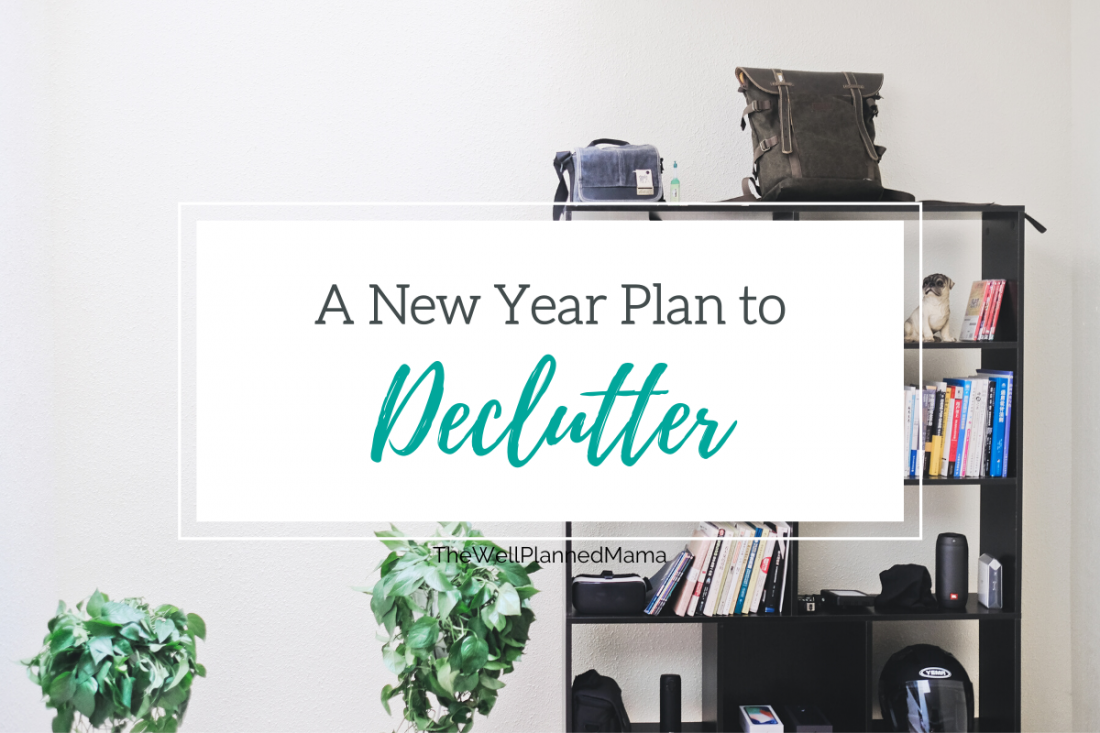 A new year declutter plan featured image