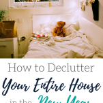 The Well Planned Mama new year declutter plan for a messy house