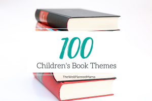 100 Children's book themes