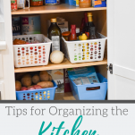 Tips for organizing the kitchen