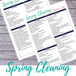 Copy of the spring cleaning check list