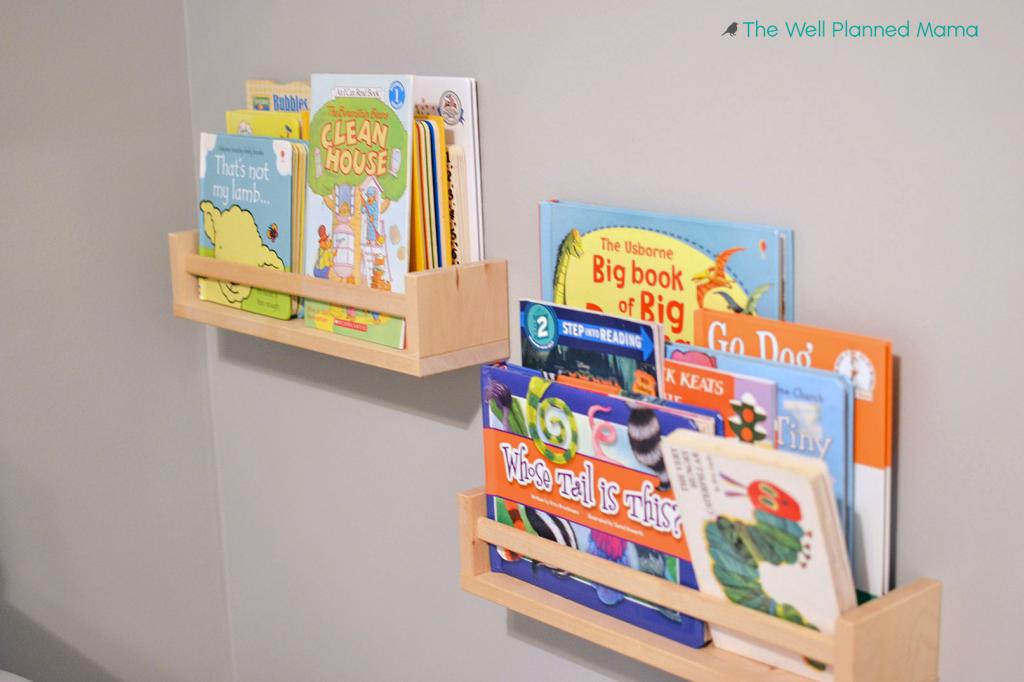 Organize Children's books