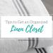 Tips to achieve an organized linen closet