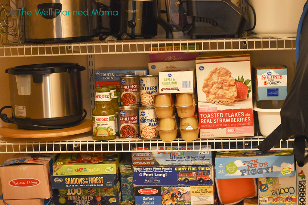 Food storage for COVID-19