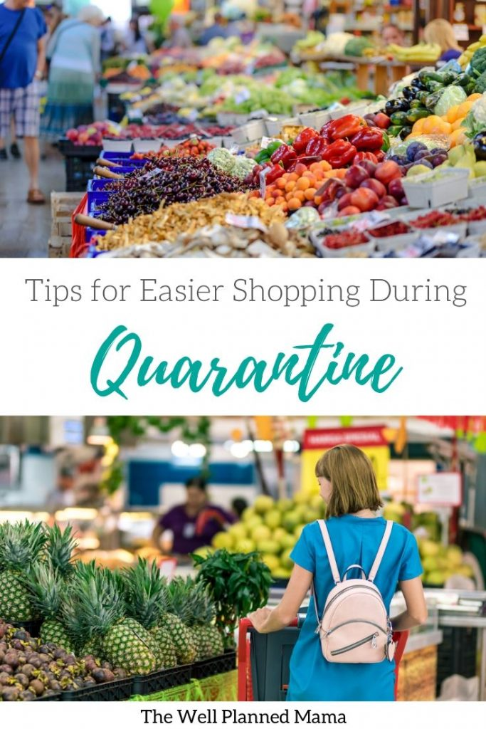 Tips for Grocery Shopping During Quarantine