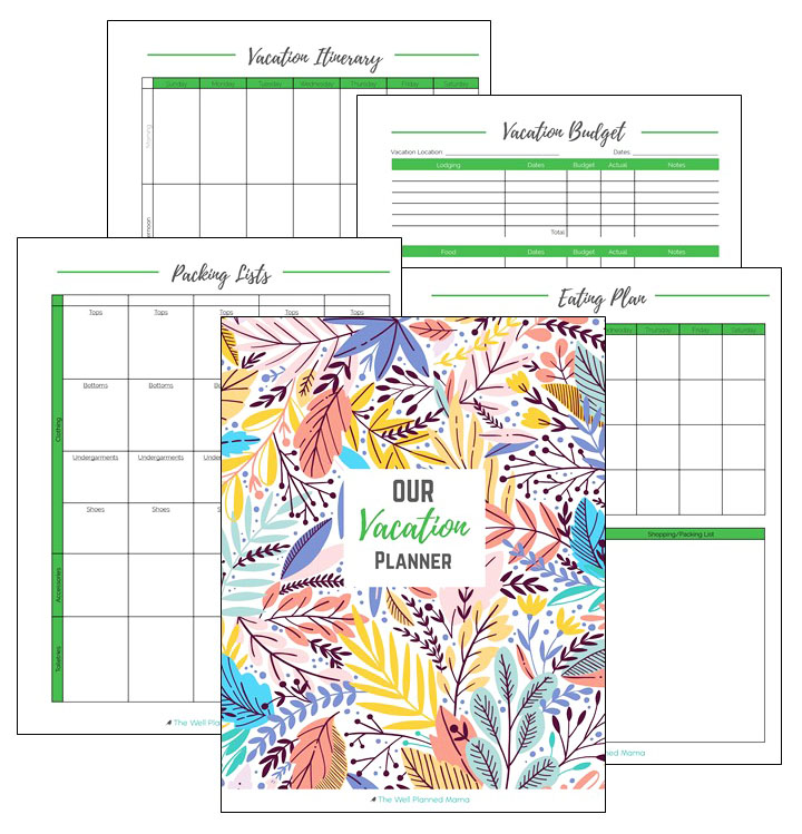 Vacation Planner and Budget Tool