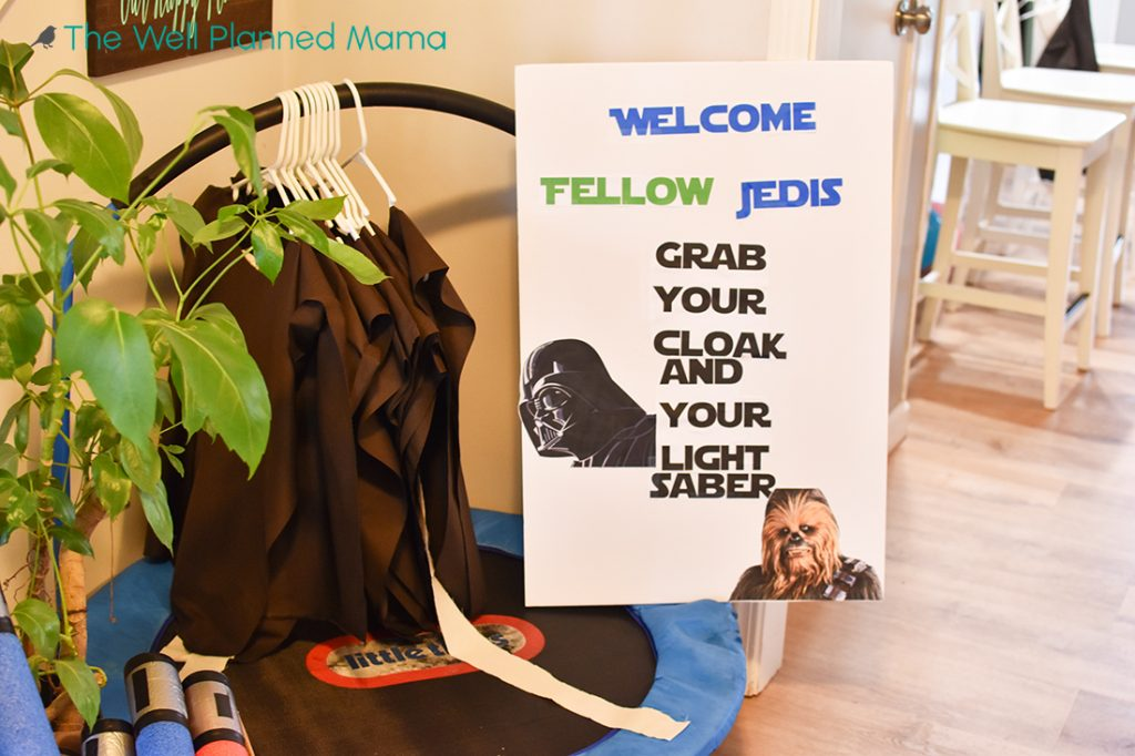 DIY Jedi Costumes and Lightsabers