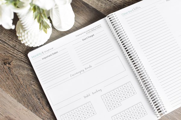 Well Planned Daily Planner Monthly Spread